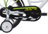 "Vermont Race Boys 16"" Børnecykel grøn"